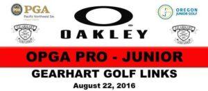 2016 Oakley Pro Junior SM BANNER Gearhart