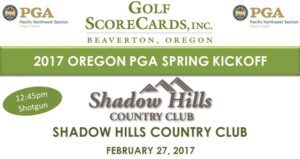 OPGA Spring Pro-Pro Kickoff @ Shadow Hills CC | Junction City | Oregon | United States