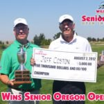 Coston Wins Senior Oregon Open