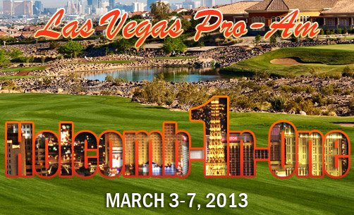 Rio Secco GC, one of 3 great courses we'll play at the 2013 Holcomb-In-One. Enter now!