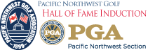 PNW Golf Hall of Fame Induction logo