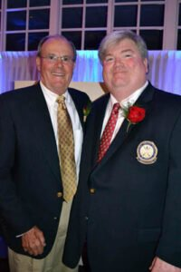 Ron Hoetmer and PNW PGA Vice President Marcus King