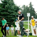 Scott Erdmann -  1st hole, 1st shot of 3rd Round