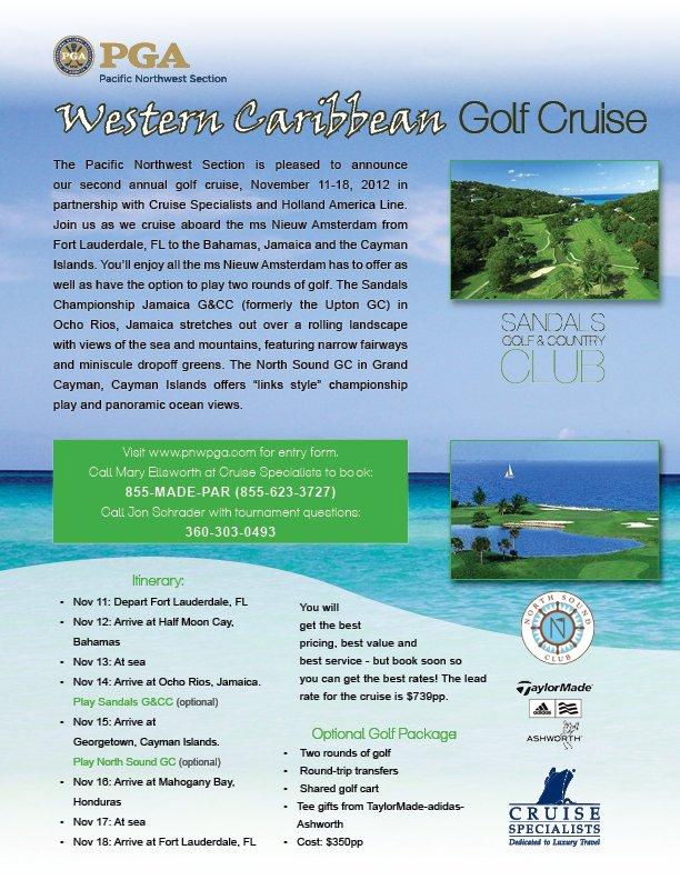 2012 golf cruise