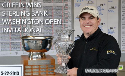 Griffin Wins Sterling Bank Washington Open Invitational