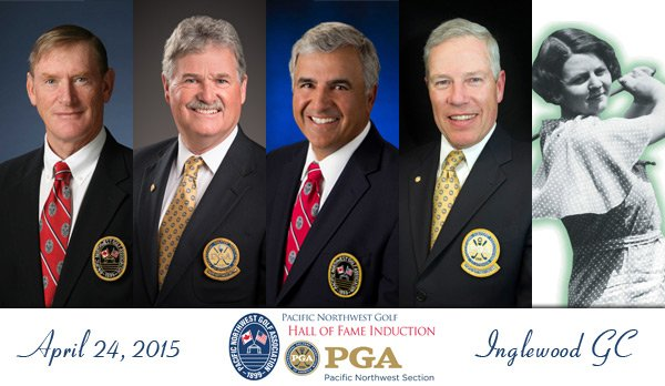 PNW PGA and PNGA to Induct Five at Joint Hall of Fame Ceremony