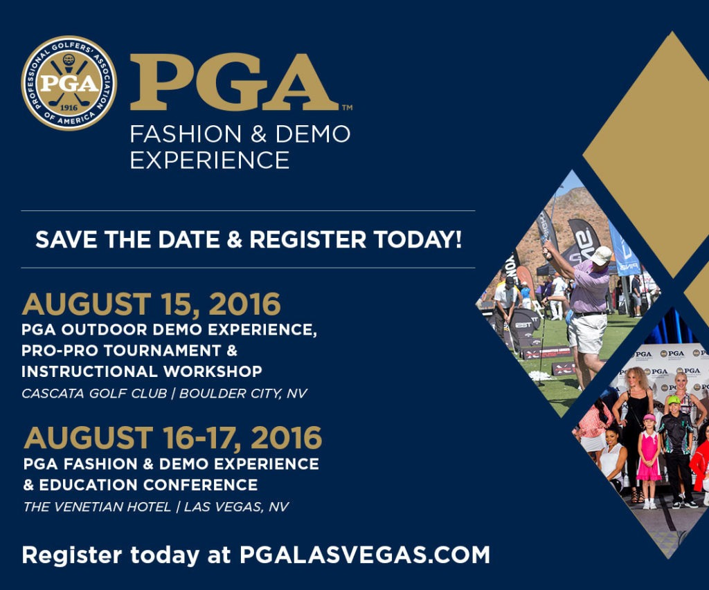 PGA Fashion and Demo Experience