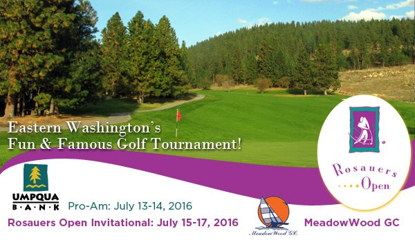 2016 Rosauers Open Invitational @ MeadowWood GC