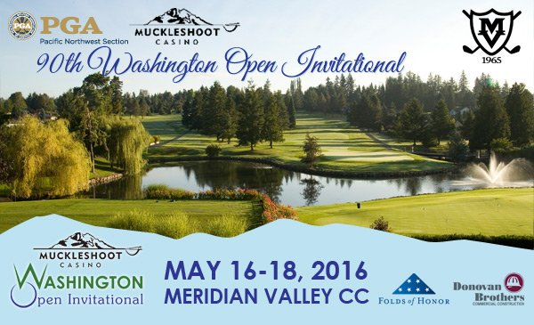 2016 Muckleshoot Casino Washington Open Invitational @ Meridian Valley CC