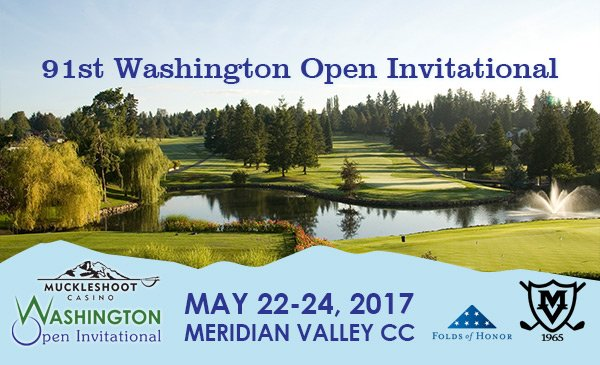 2017 Muckleshoot Casino Washington Open Invitational @ Meridian Valley CC