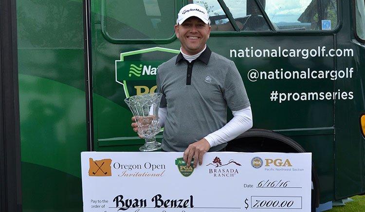 Benzel Wins Oregon Open