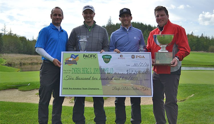 Berg and D'Amelio Win PNW Pro-Amateur Championship