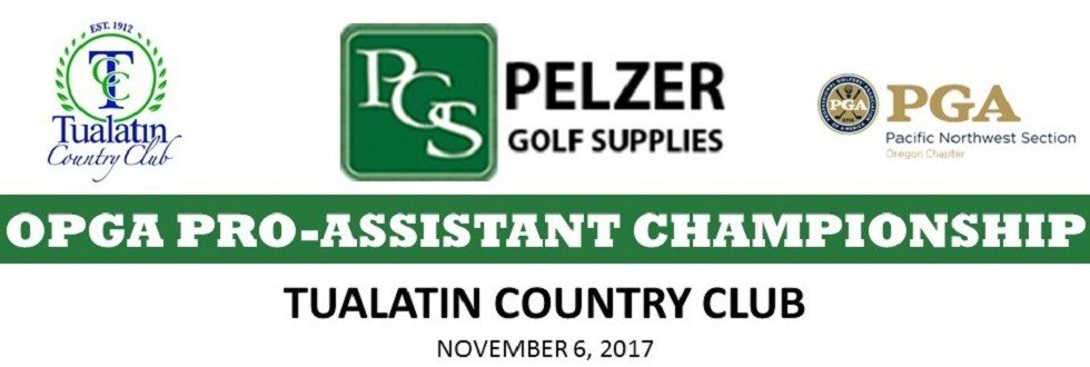 OPGA Fall Pro Assistant Championship / Pro-Pro @ Tualatin Country Club | Junction City | Oregon | United States