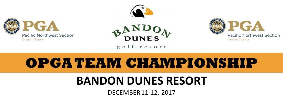 OPGA Team Championship @ Bandon Dunes Resort | Bandon | Oregon | United States