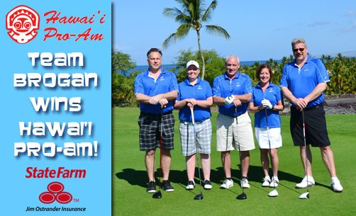 Team Brogan Wins Hawai'i Pro-Am!