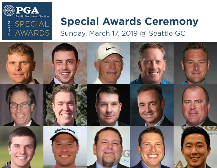 PNW PGA Special Awards Ceremony @ Seattle GC | Kent | Washington | United States