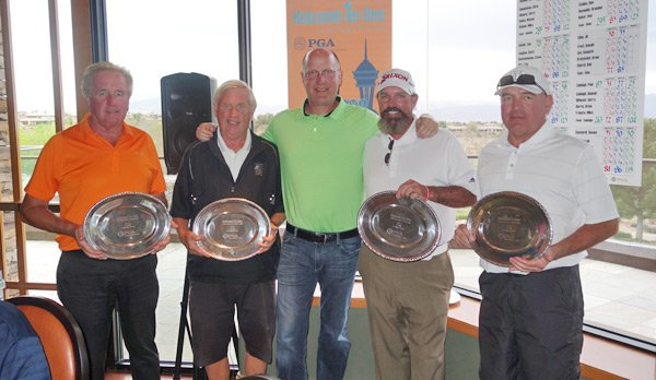 David Faulk, Larry Buss, Grant Holcomb (sponsor), Billy Bomar, PGA and Mike Bergt