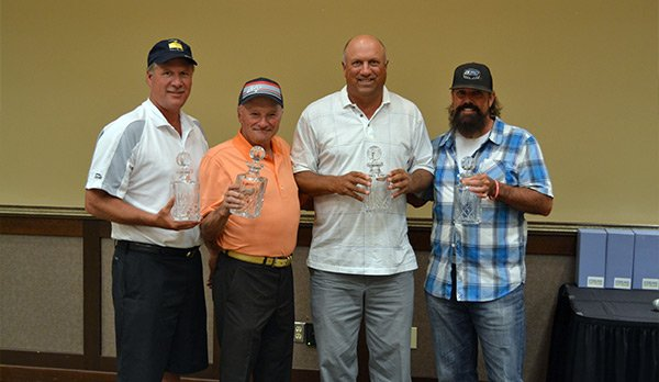 Team Champions PGA Professional Bill Bomar and amateurs Mike Kerns, Dave Johnston and Dave Steinbach