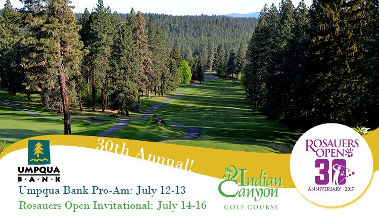 2017 Rosauers Open Invitational @ Indian Canyon GC