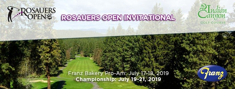 2019 Rosauers Open Invitational @ Indian Canyon GC
