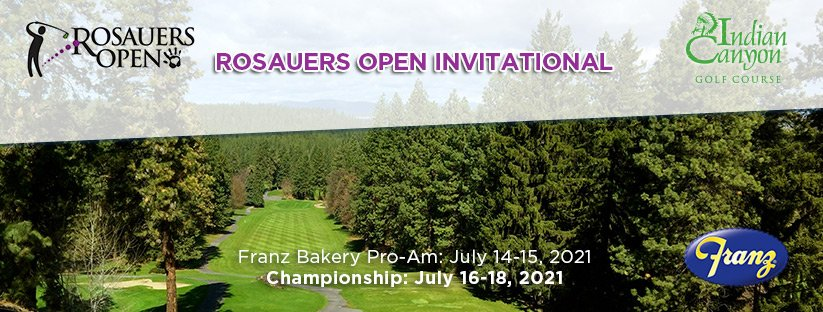 2021 Rosauers Open Invitational @ Indian Canyon GC