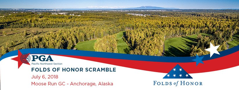 2018 Folds of Honor Scramble @ Moose Run GC - Creek Course