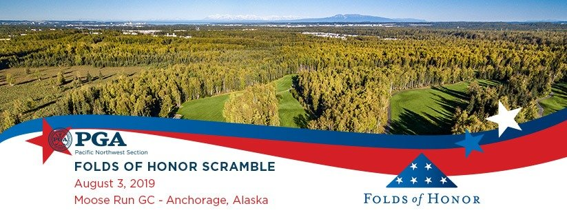 2019 Folds of Honor Scramble @ Moose Run GC - Creek Course