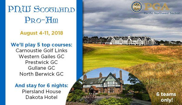 PNW Scotland Pro-Am @ Scotland