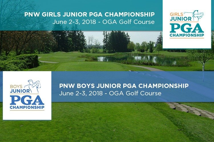2018 PNW Junior PGA Championship Entries Available