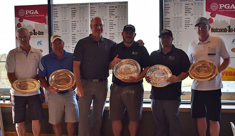 Team Chewelah G&CC Wins Holcomb-In-One
