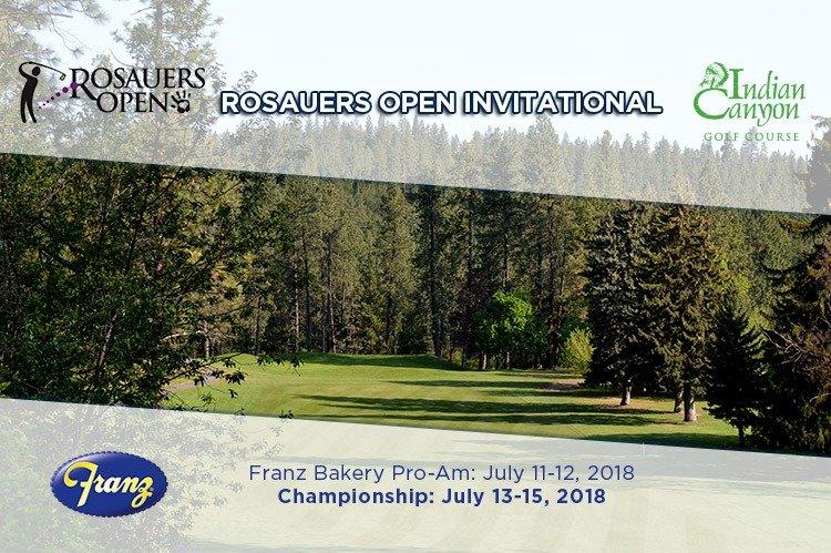 Enter the 31st Rosauers Open Invitational