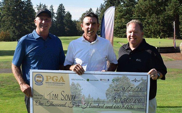 Sovay Wins PNW Senior PGA Professional Championship