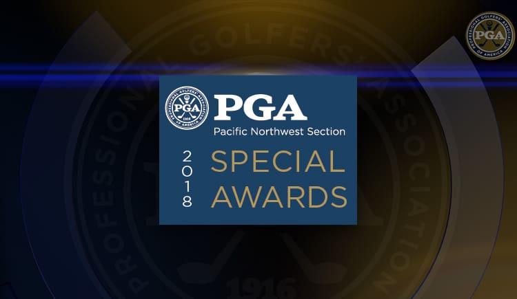 2018 PNW PGA Special Award Winners