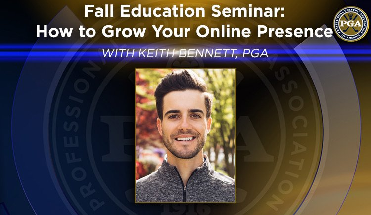Fall Education – How to Grow Your Online Presence @ PNWPGA Virtual Merchandise Show