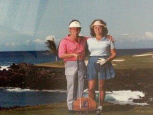 Norm Blandel photo 3 - Norm & Ali - Mauna Lani Resort - 1983
