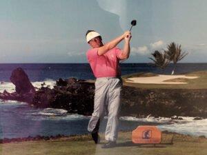 Norm Blandel photo 4 - PGA Head Golf Professional - Mauna Lani Resort - 1983