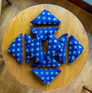 Folds of Honor flags - Steve Stevens